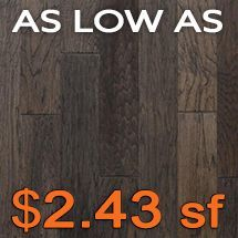 Alexandria Floors - Standbridge 3/8 - Smoked Hickory Hardwood