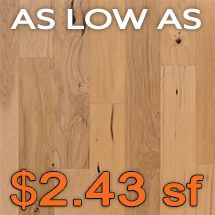Alexandria Floors - Standbridge 3/8 - Natural Hardwood